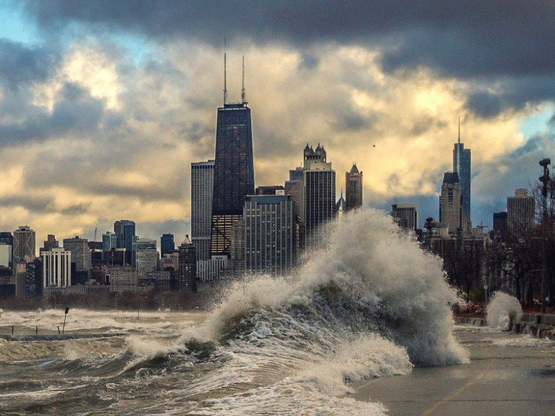 Water Levels Surge on Great Lakes
