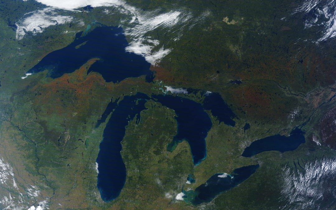 NOAA-GLERL and CILER's Great Lakes Dashboard Team Publishes 3rd Journal Article
