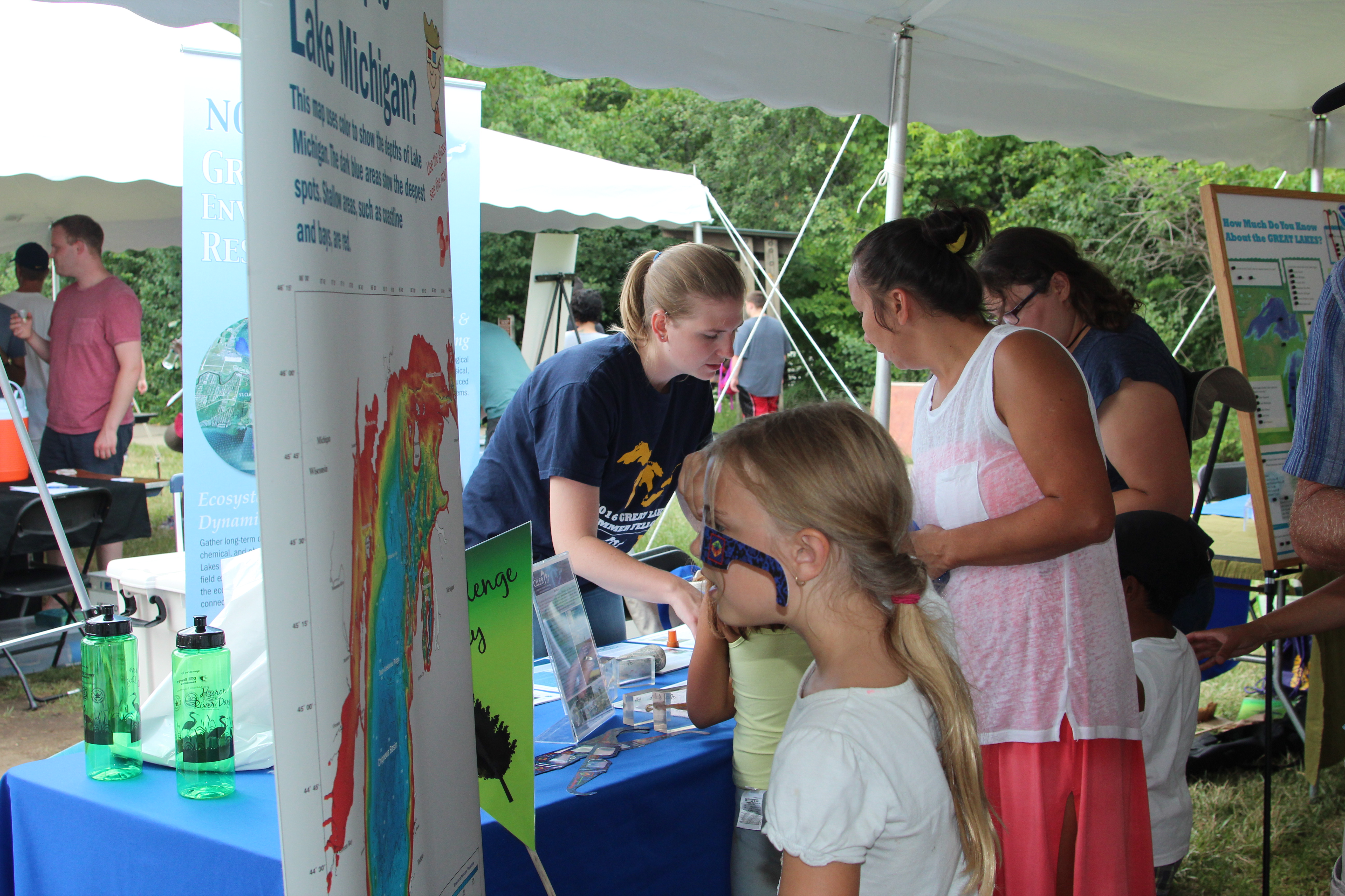 CIGLR Summer Fellow at Huron River Day