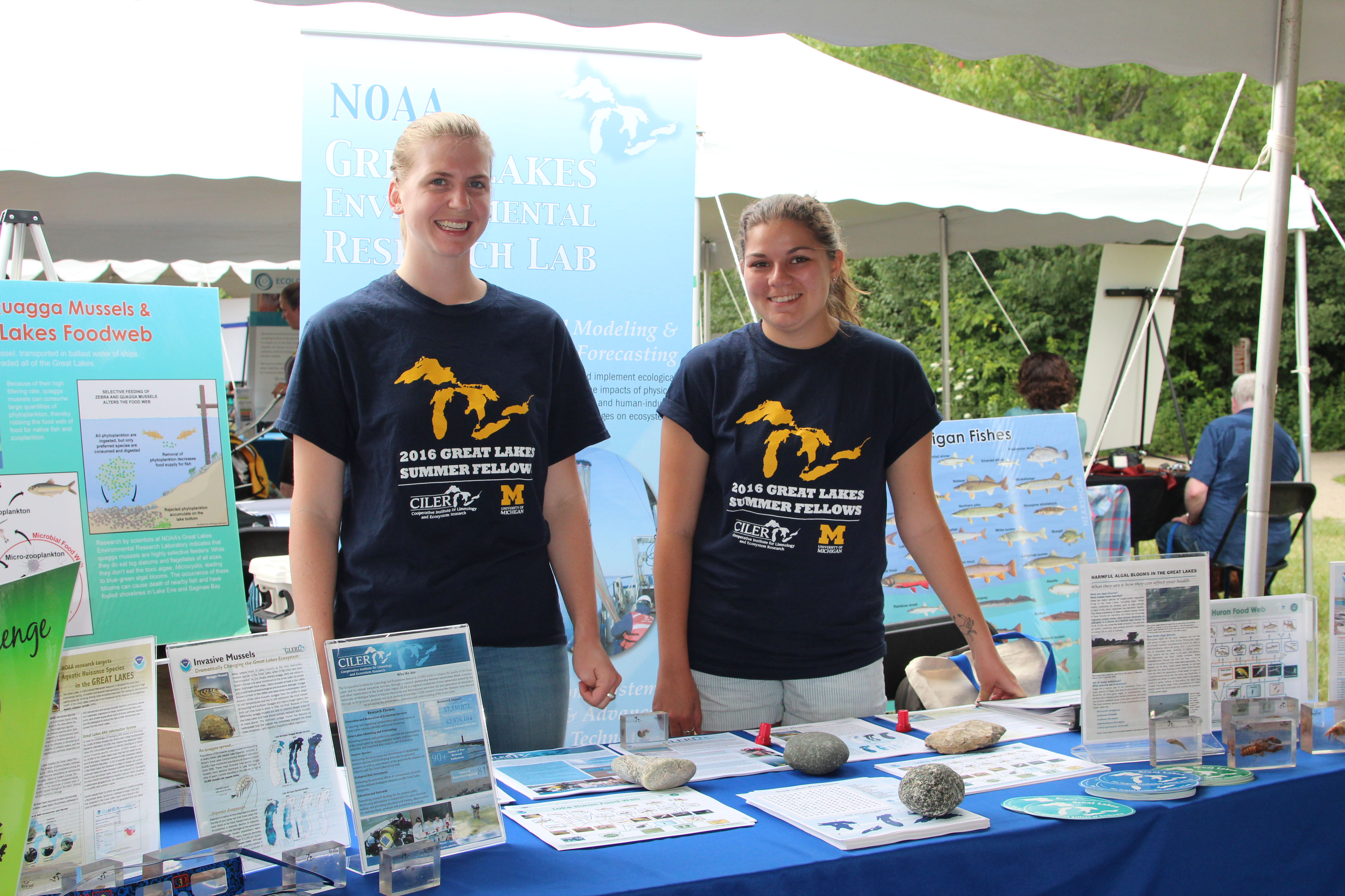 Huron River Day Table
