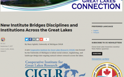 New Institute Bridges Disciplines & Institutions Across the Great Lakes