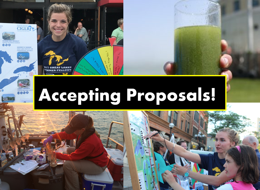 Accepting proposals! 2018 CIGLR Programs
