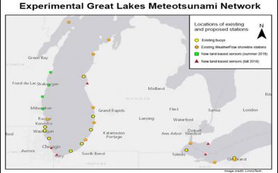Great Lakes Meteotsunami Pilot Project