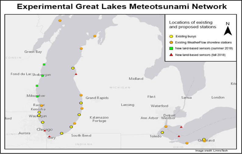Great Lakes Meteotsunami Pilot Project