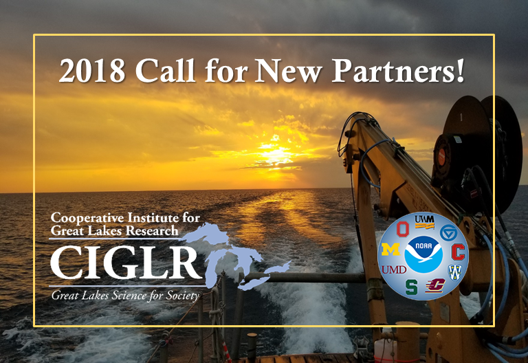2018 Call for New Partners!
