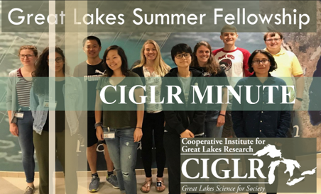 CIGLR Spotlight: Great Lakes Summer Fellows