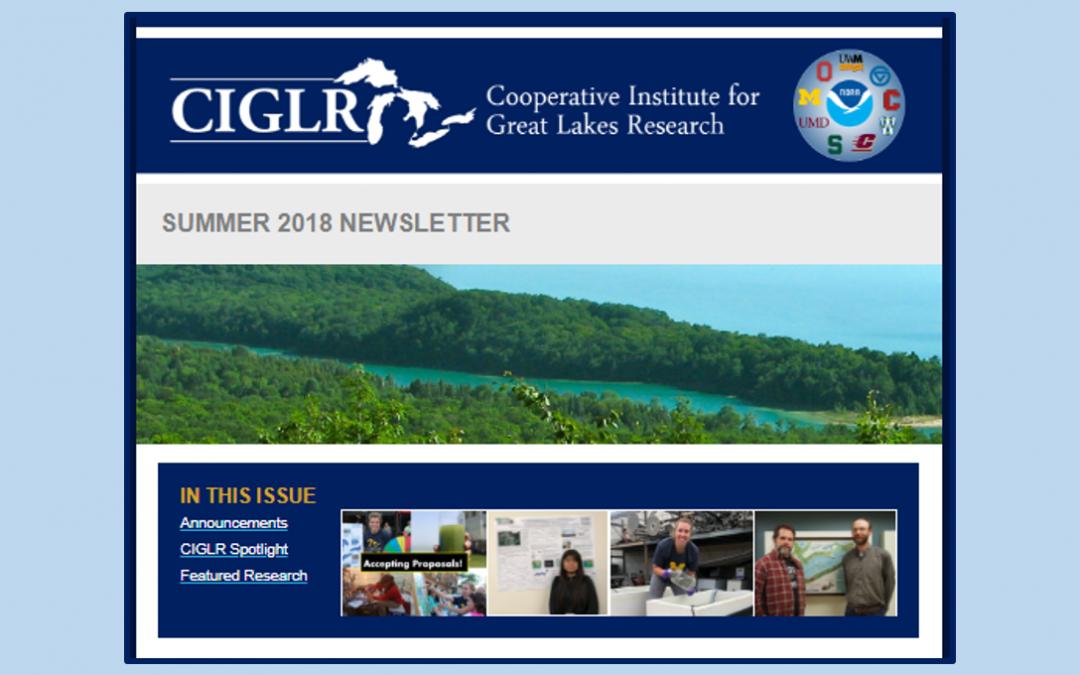Summer 2018 eNewsletter