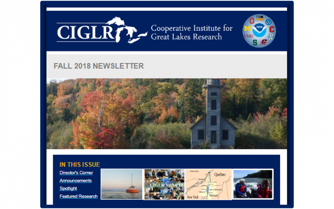Fall 2018 eNewsletter