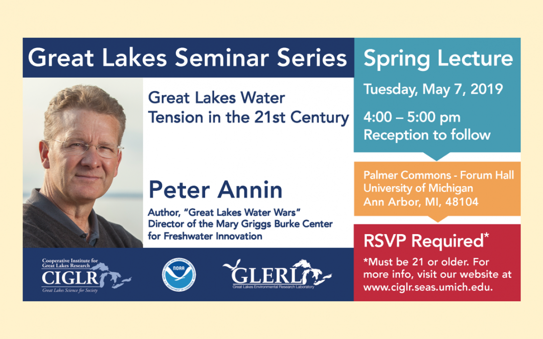 Peter Annin To Speak in Great Lakes Seminar Series