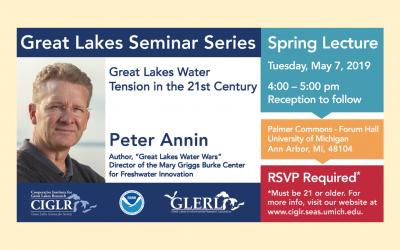 Peter Annin To Speak in Great Lakes Seminar Series