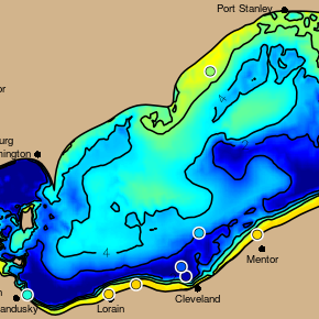 Lake Erie Experimental Hypoxia Forecast