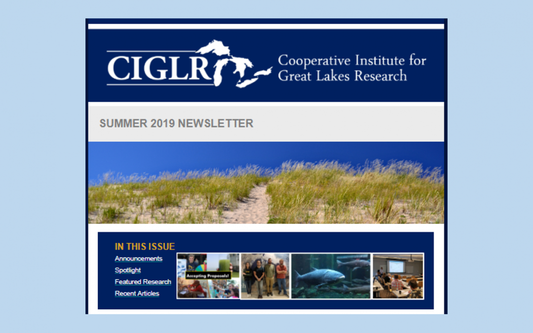 Summer 2019 eNewsletter