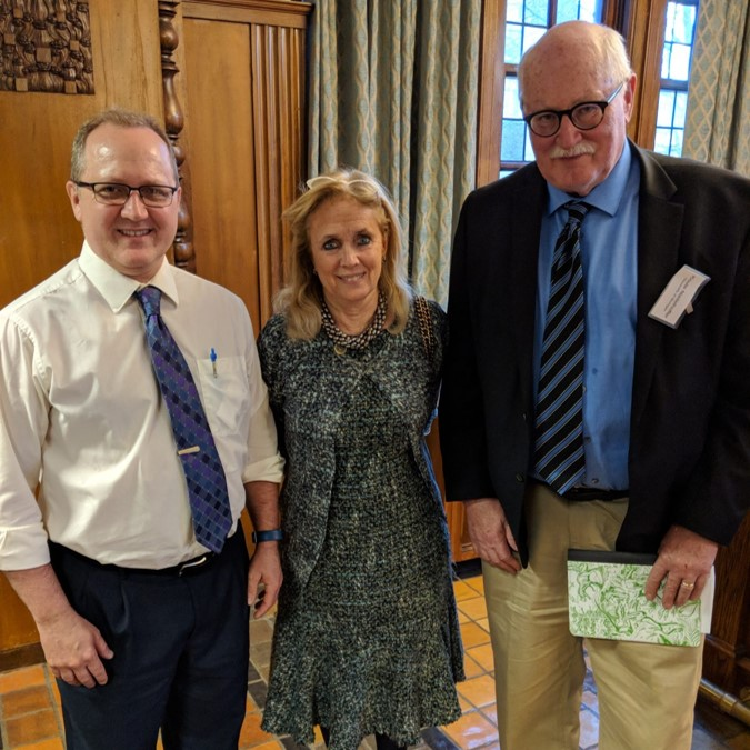 2018 ELPC HABs Confluence Conference: We were honored to have Representative Debbie Dingell join us for dinner at the HABs Confluence to talk with us about the importance of funding for Great Lakes Science & the need for bipartisan support of HABs research. Thank you for supporting our greatest freshwater resource! Photo Credit: Aubrey Lashaway.
