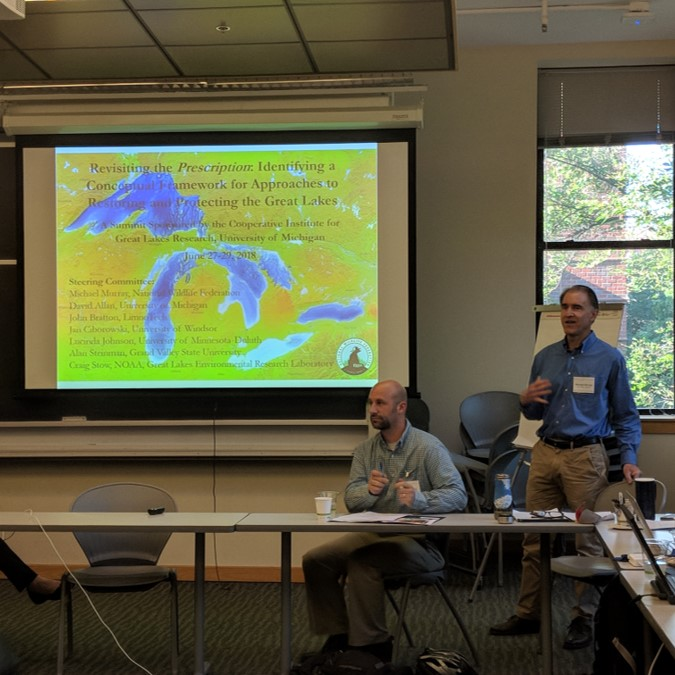 2018 NWF Summit: Revisiting the Prescription: Identifying a Conceptual Framework for Approaches to Restoring and Protecting the Great Lakes. Photo Credit: Aubrey Lashaway.