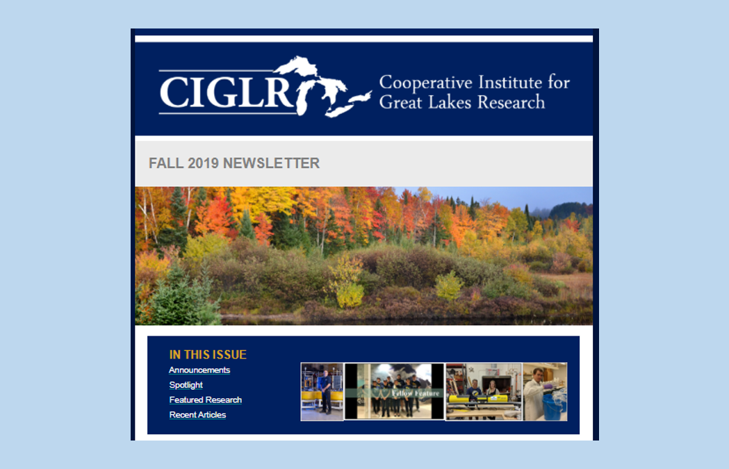 Fall 2019 eNewsletter