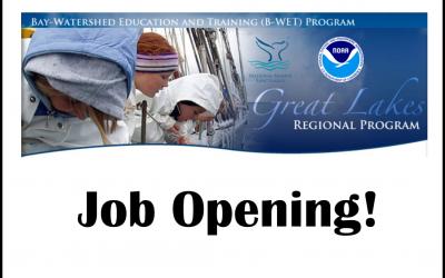 New Job! Program Assistant: NOAA B-WET Program